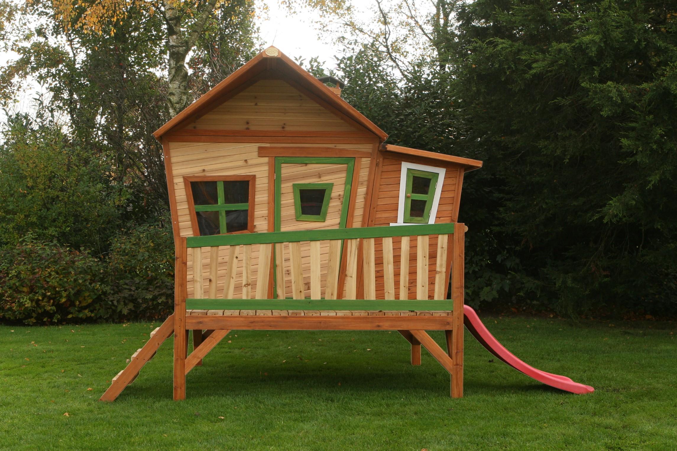 houten speelhuisjes speelhuis van hout kopen. Black Bedroom Furniture Sets. Home Design Ideas