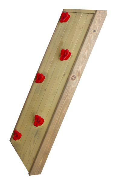 Axi klimwand voor houten speelhuisje