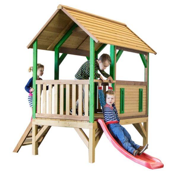 Axi houten safari speelhuisje Akela