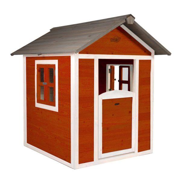 Sunny Speelhuisje Lodge (Scandinavisch rood)
