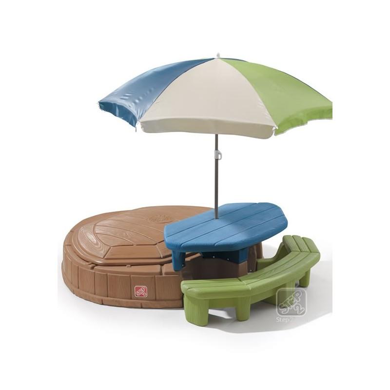 Step2 Zandbak Met Picknicktafel Speeleiland Voor Kinderen